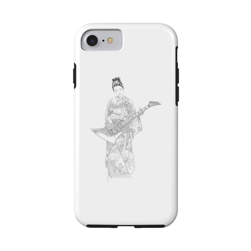 japanese rockstar Accessories Phone Case by hd's Artist Shop