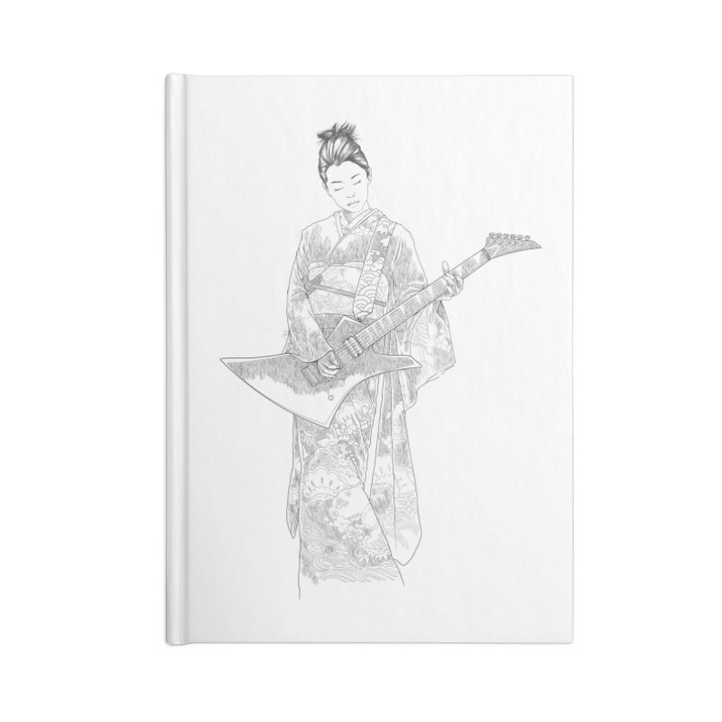 japanese rockstar Accessories Notebook by hd's Artist Shop