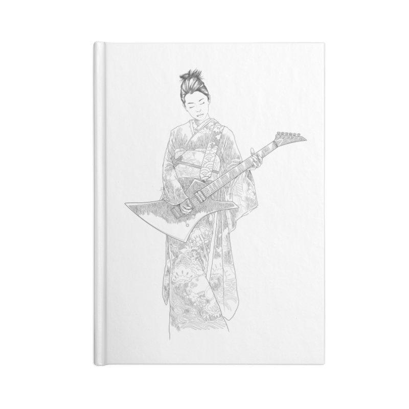 japanese rockstar Accessories Notebook by hd's Artist Shop