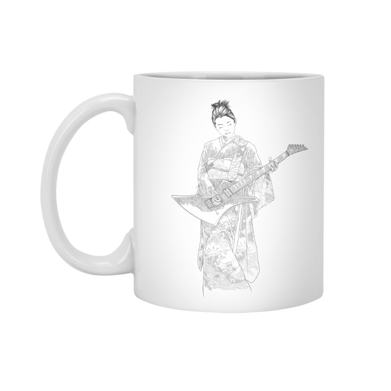 japanese rockstar Accessories Standard Mug by hd's Artist Shop