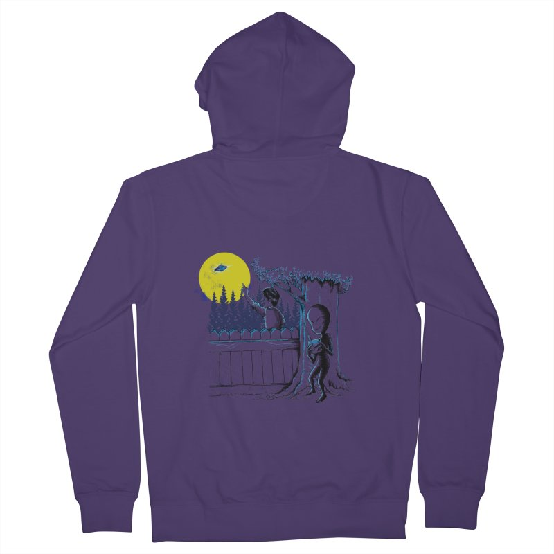 alien toy Women's Zip-Up Hoody by hd's Artist Shop