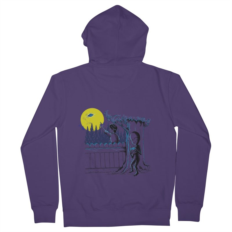 alien toy Women's French Terry Zip-Up Hoody by hd's Artist Shop