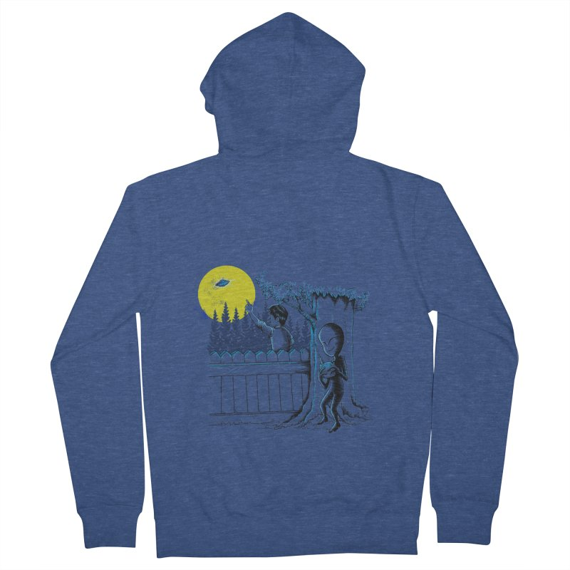 alien toy Men's Zip-Up Hoody by hd's Artist Shop