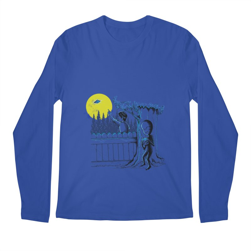 alien toy Men's Regular Longsleeve T-Shirt by hd's Artist Shop