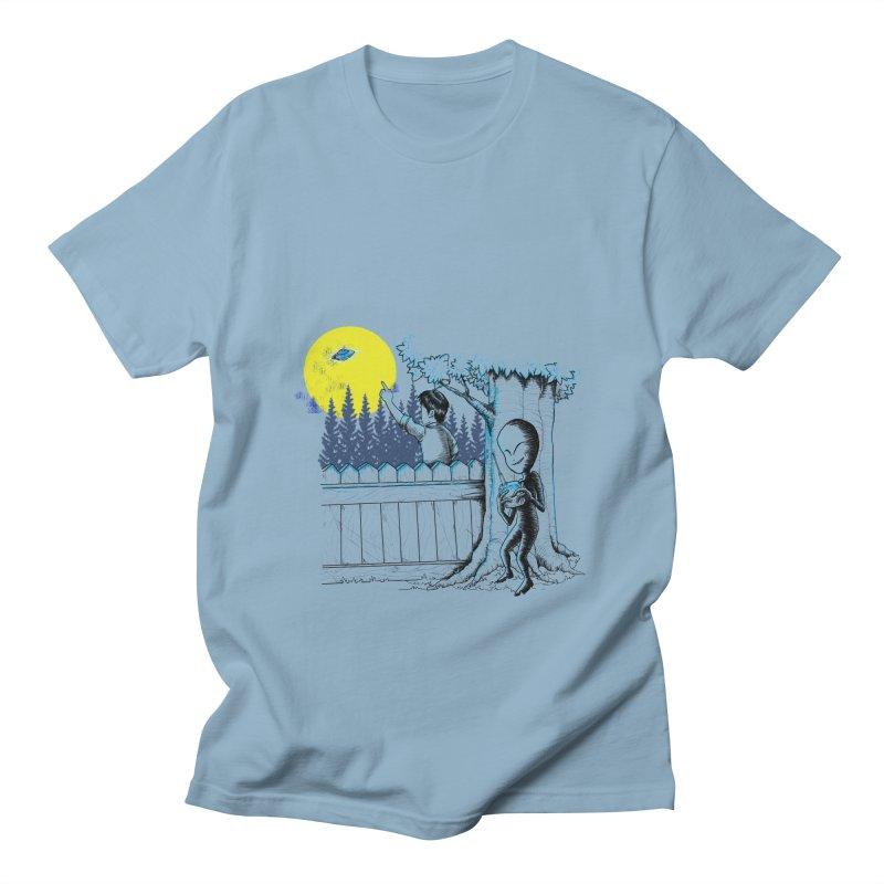 alien toy Men's Regular T-Shirt by hd's Artist Shop