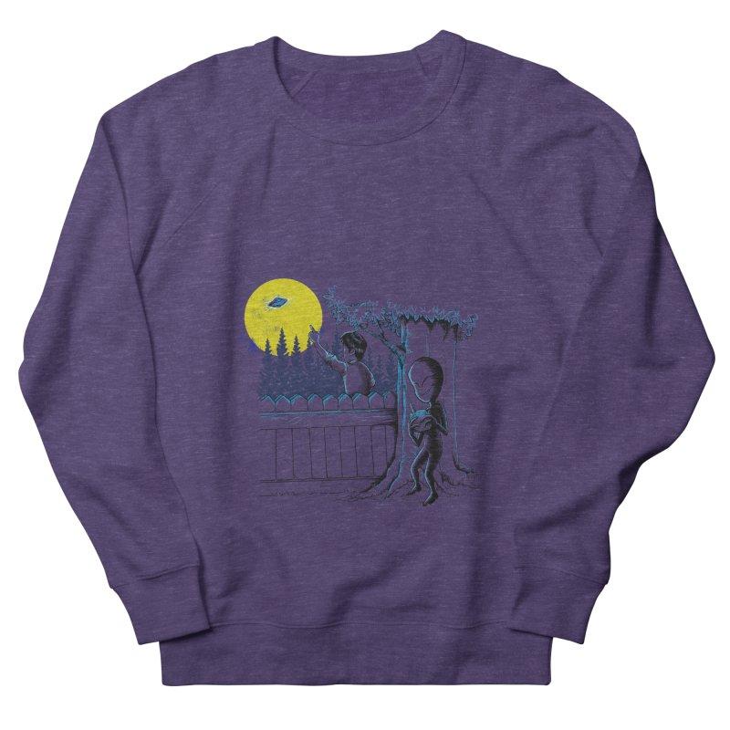 alien toy Men's French Terry Sweatshirt by hd's Artist Shop