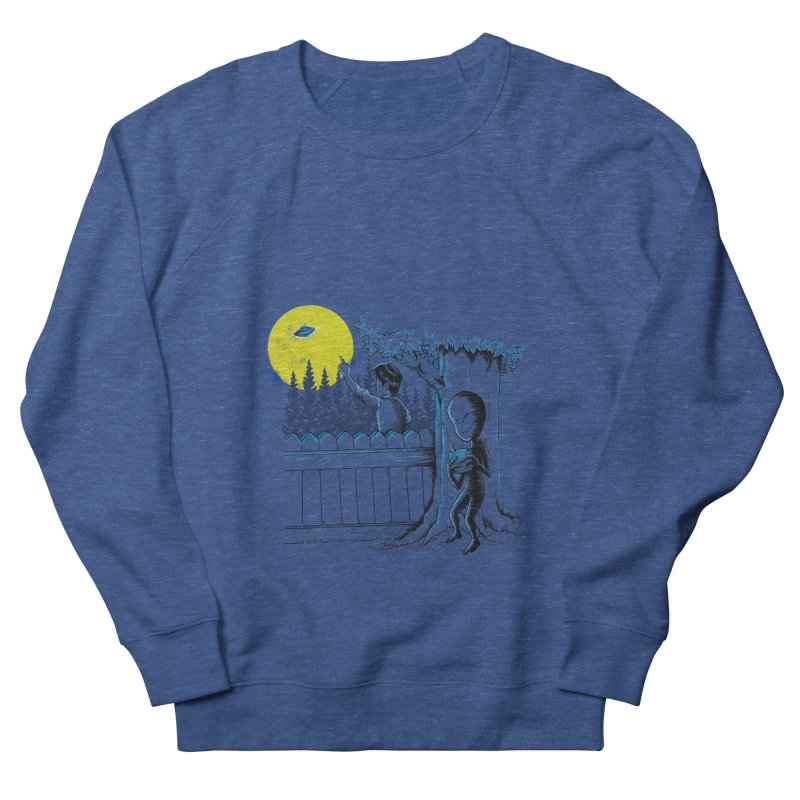 alien toy Men's French Terry Sweatshirt by hd's Artist Shop