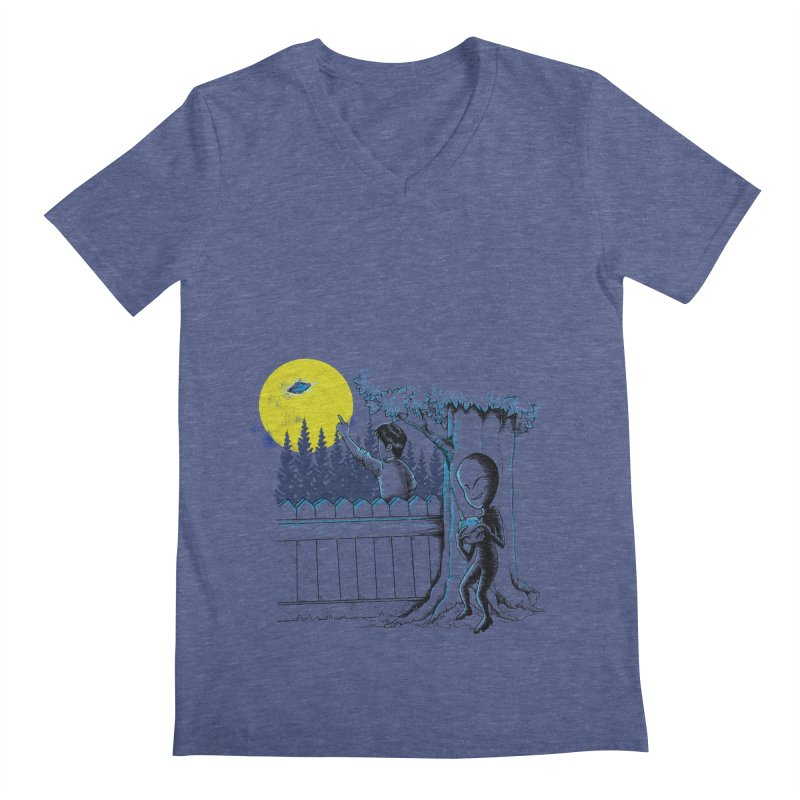alien toy Men's V-Neck by hd's Artist Shop