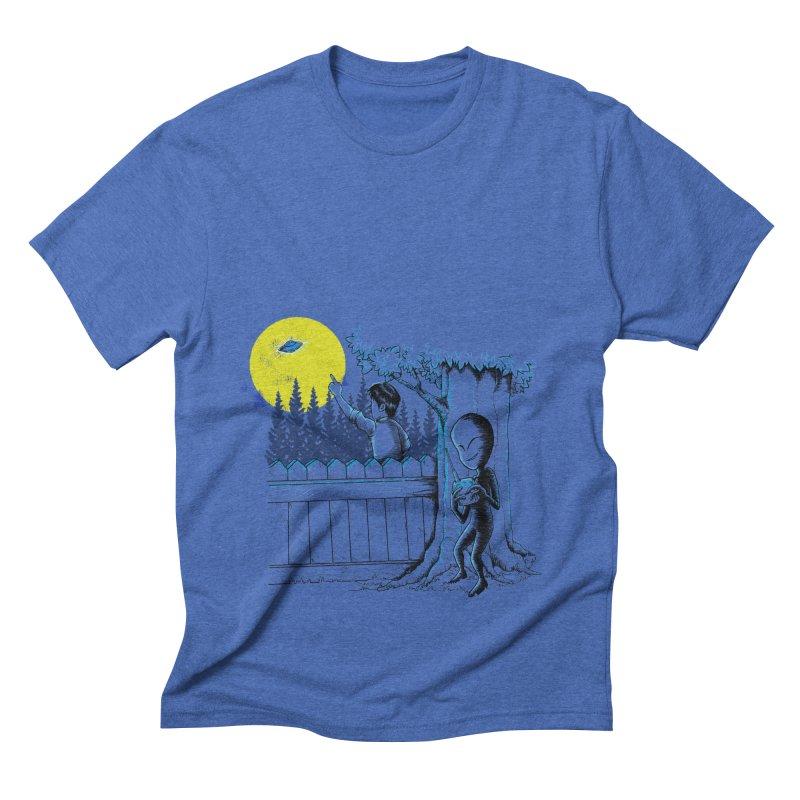 alien toy Men's Triblend T-shirt by hd's Artist Shop
