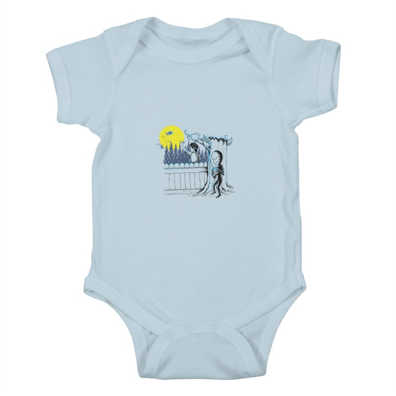 alien toy Kids Baby Bodysuit by hd's Artist Shop