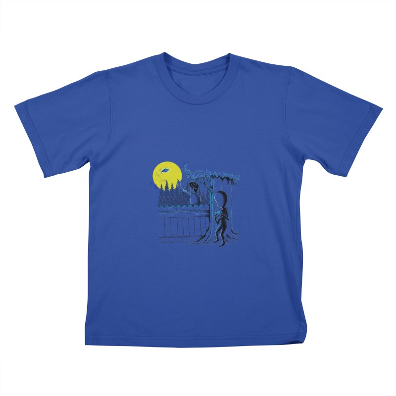 alien toy Kids T-Shirt by hd's Artist Shop