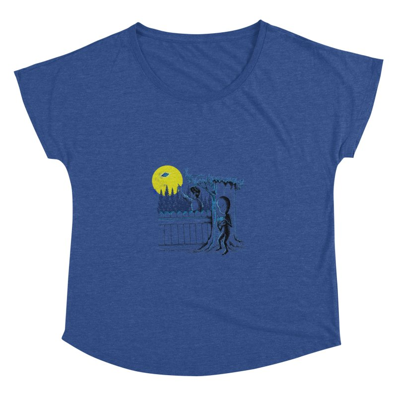 alien toy Women's Dolman Scoop Neck by hd's Artist Shop
