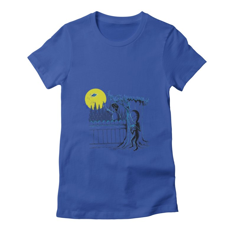 alien toy Women's Fitted T-Shirt by hd's Artist Shop