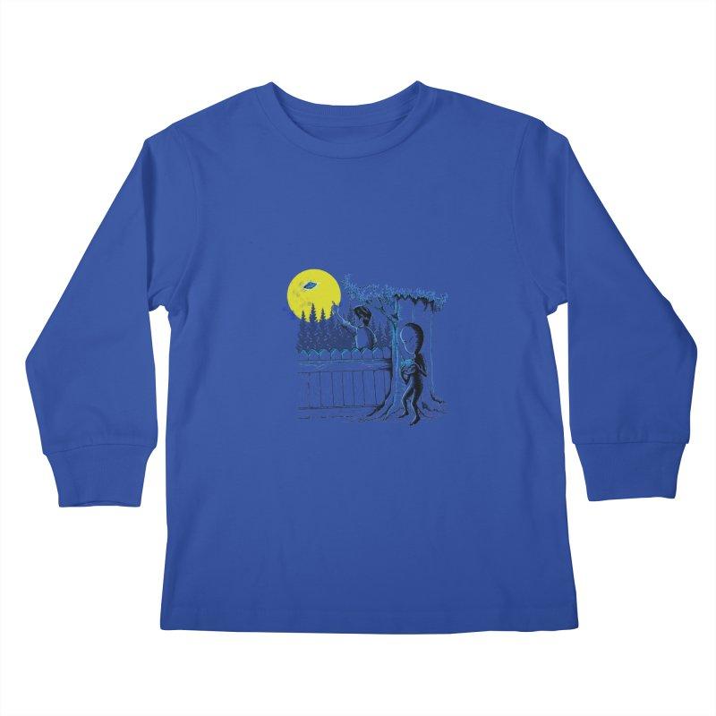 alien toy Kids Longsleeve T-Shirt by hd's Artist Shop