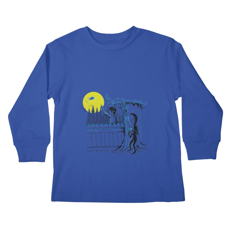 alien toy Kids Longsleeve T-Shirt by hd's Artist Shop