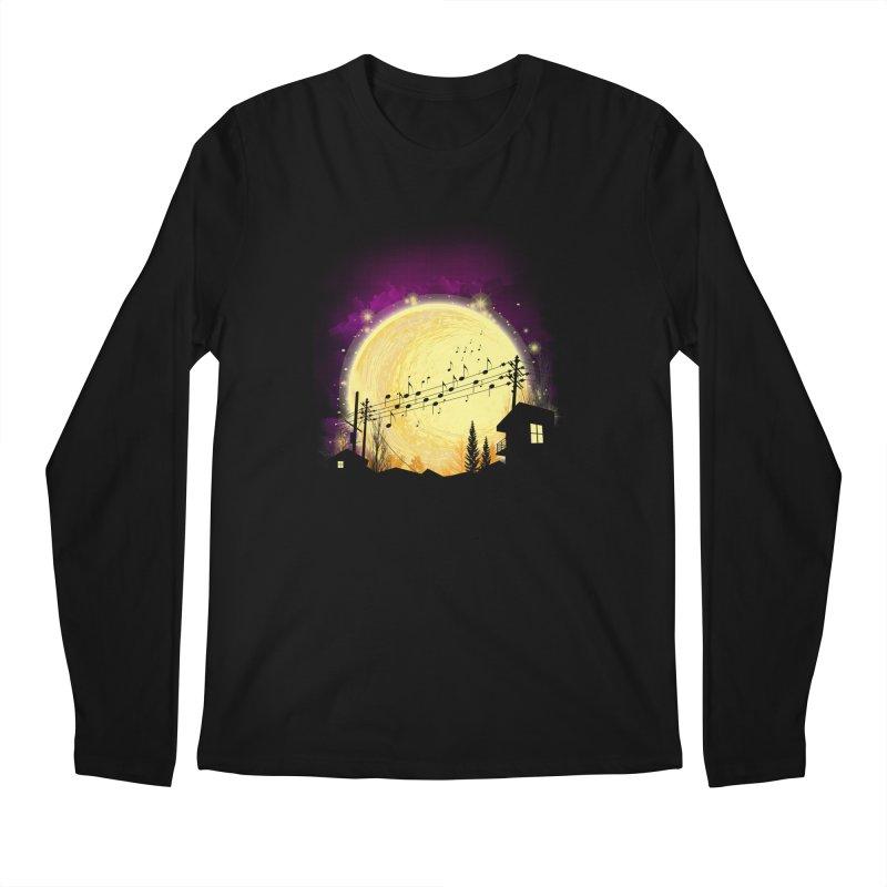 moonote Men's Longsleeve T-Shirt by hd's Artist Shop