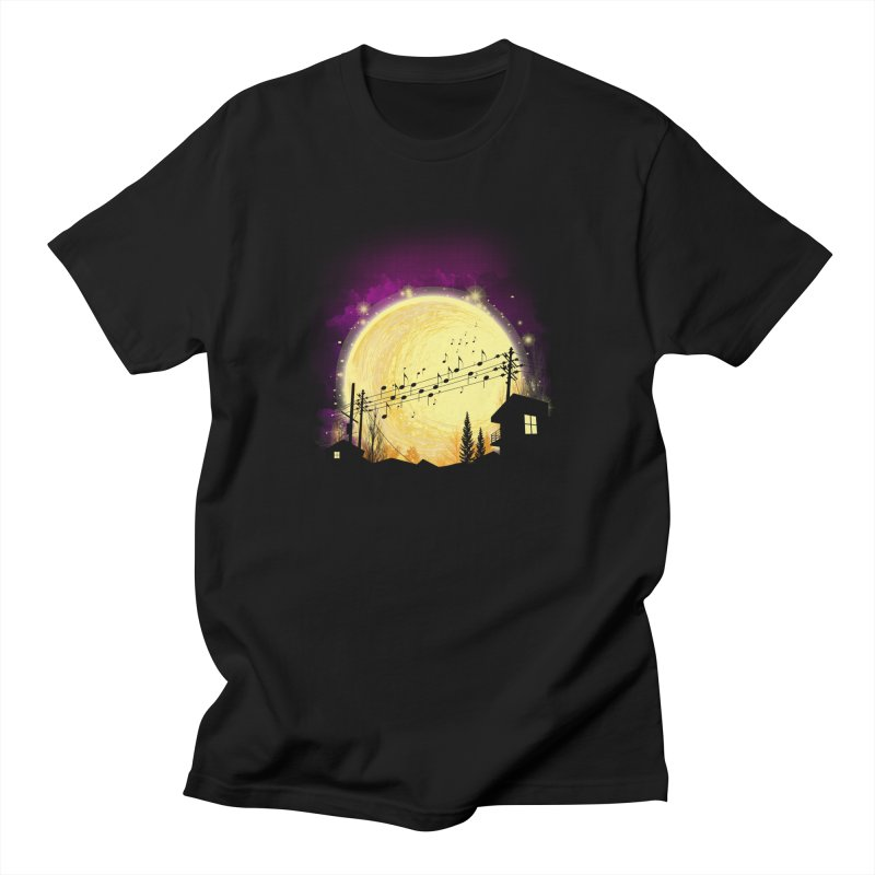 moonote Men's T-Shirt by hd's Artist Shop