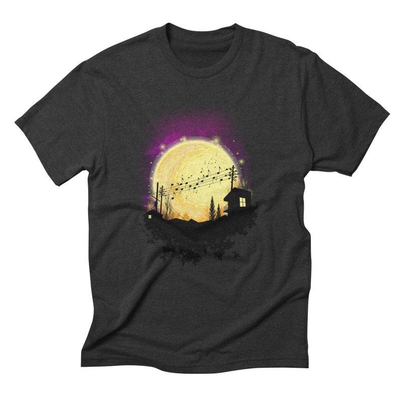 moonote Men's T-Shirt by hd's Artist Shop