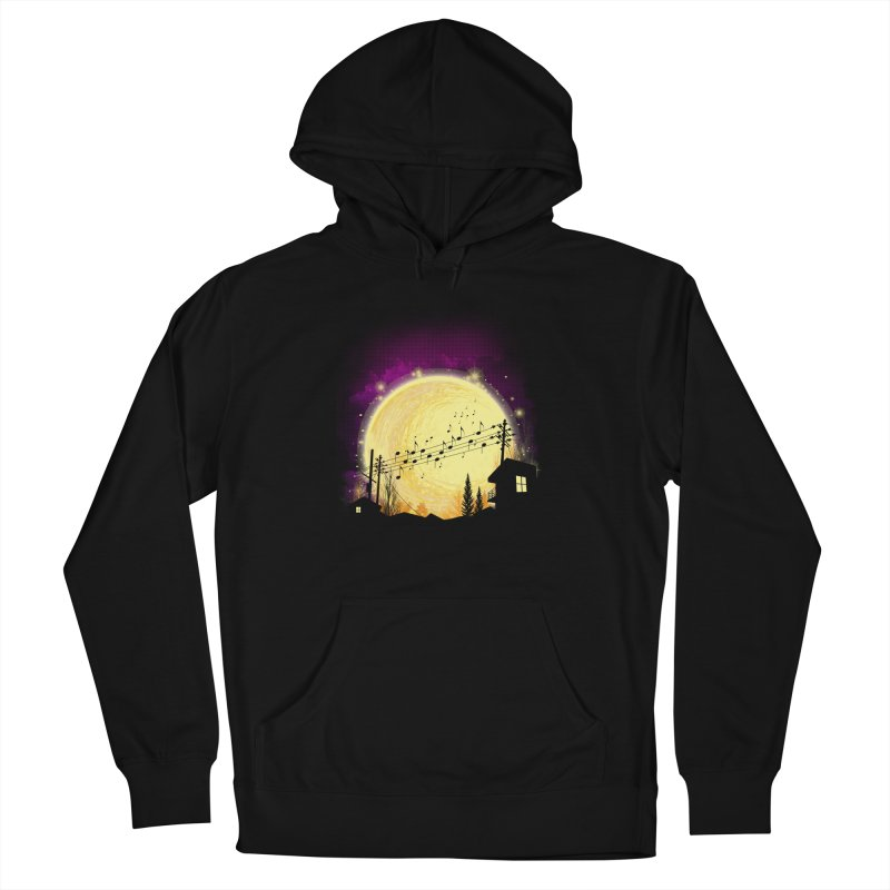 moonote Men's French Terry Pullover Hoody by hd's Artist Shop