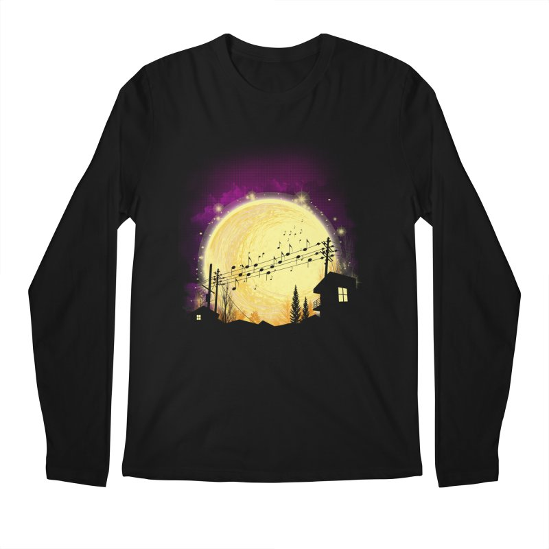 moonote Men's Regular Longsleeve T-Shirt by hd's Artist Shop