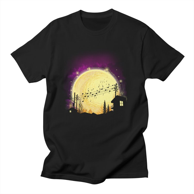 moonote Men's Regular T-Shirt by hd's Artist Shop