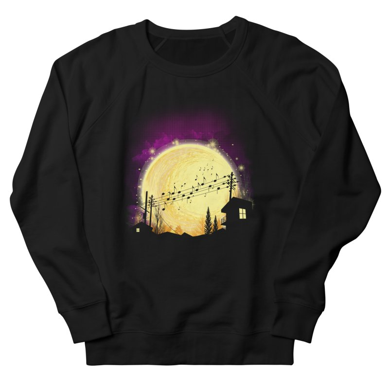 moonote Men's French Terry Sweatshirt by hd's Artist Shop