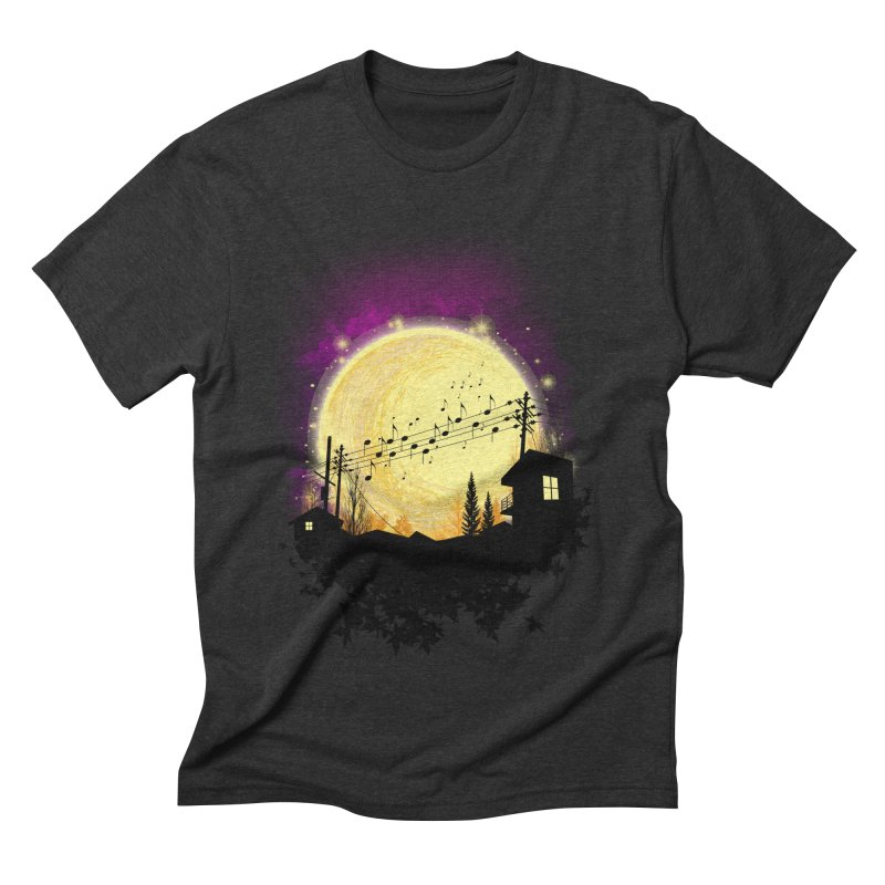 moonote Men's Triblend T-Shirt by hd's Artist Shop