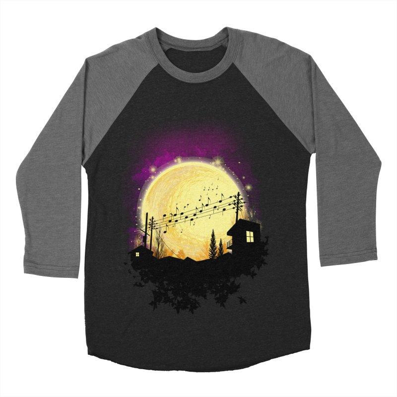 moonote Men's Baseball Triblend Longsleeve T-Shirt by hd's Artist Shop