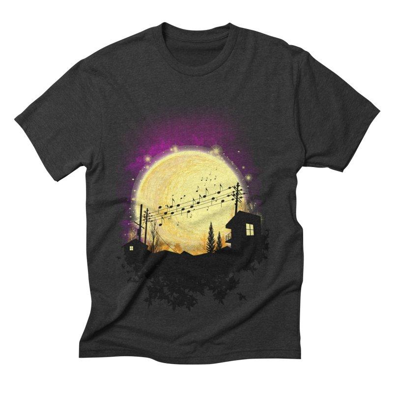 moonote Men's Triblend T-shirt by hd's Artist Shop