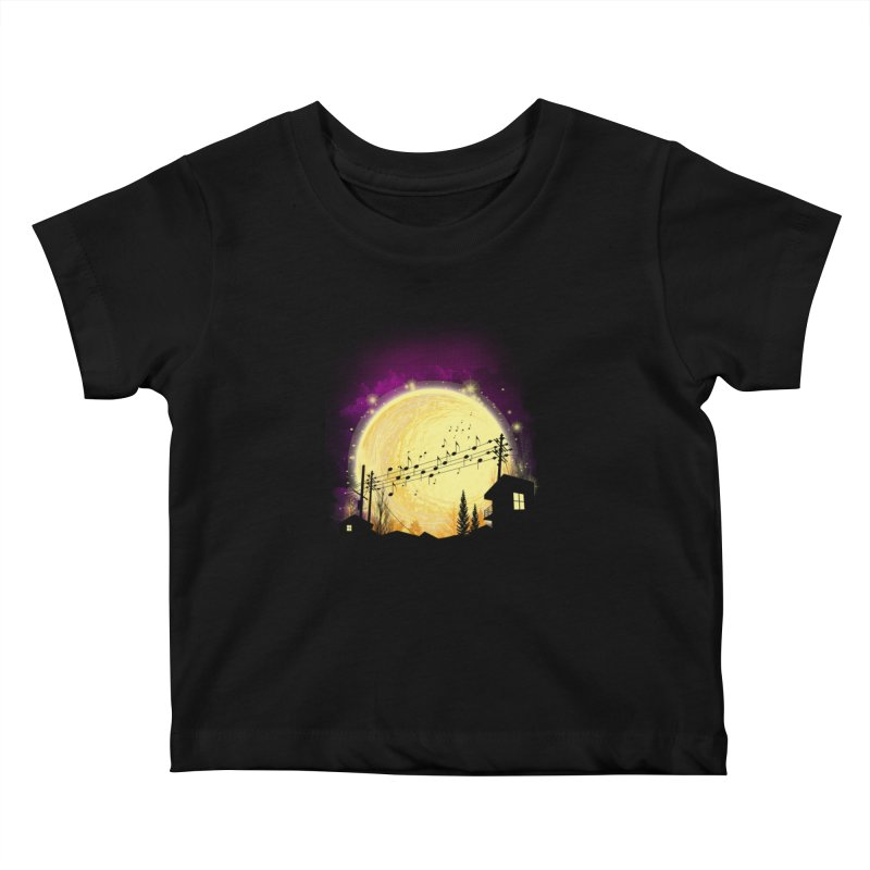 moonote Kids Baby T-Shirt by hd's Artist Shop