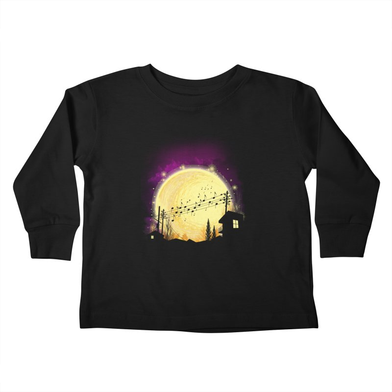 moonote Kids Toddler Longsleeve T-Shirt by hd's Artist Shop