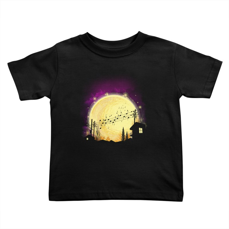 moonote Kids Toddler T-Shirt by hd's Artist Shop