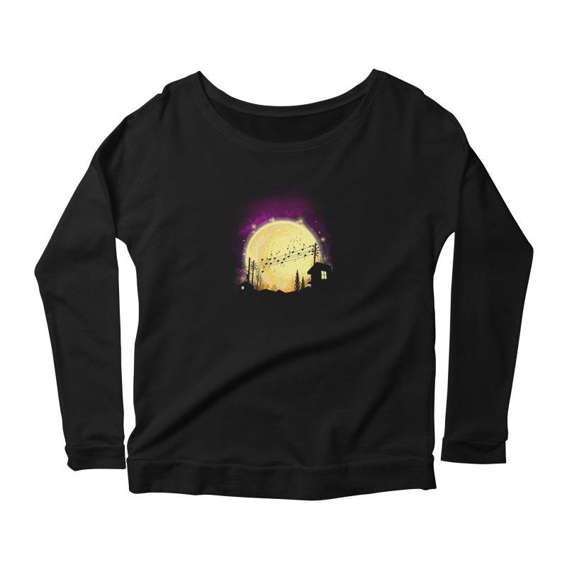 moonote Women's Longsleeve T-Shirt by hd's Artist Shop