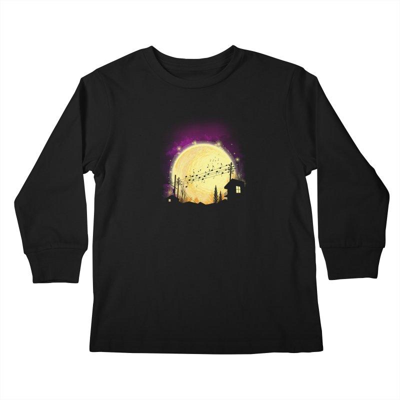 moonote Kids Longsleeve T-Shirt by hd's Artist Shop