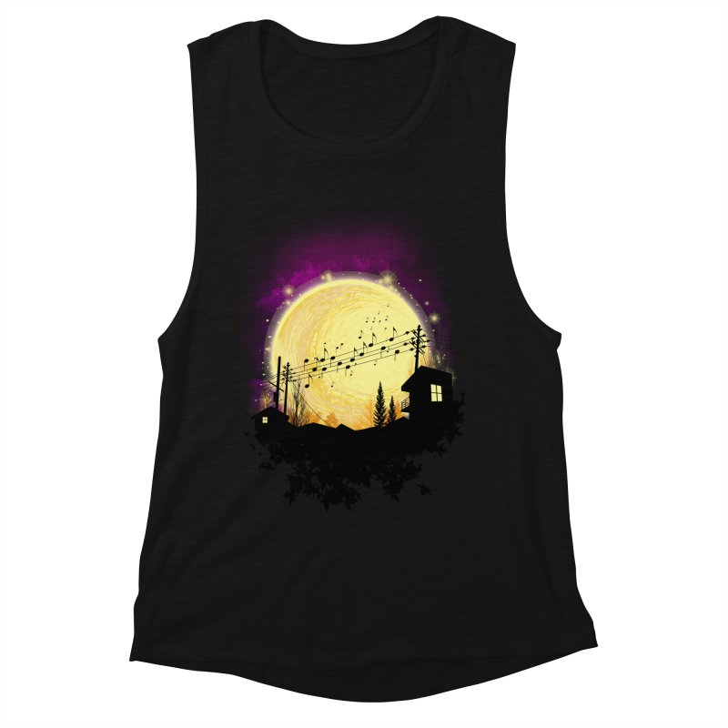moonote Women's Tank by hd's Artist Shop