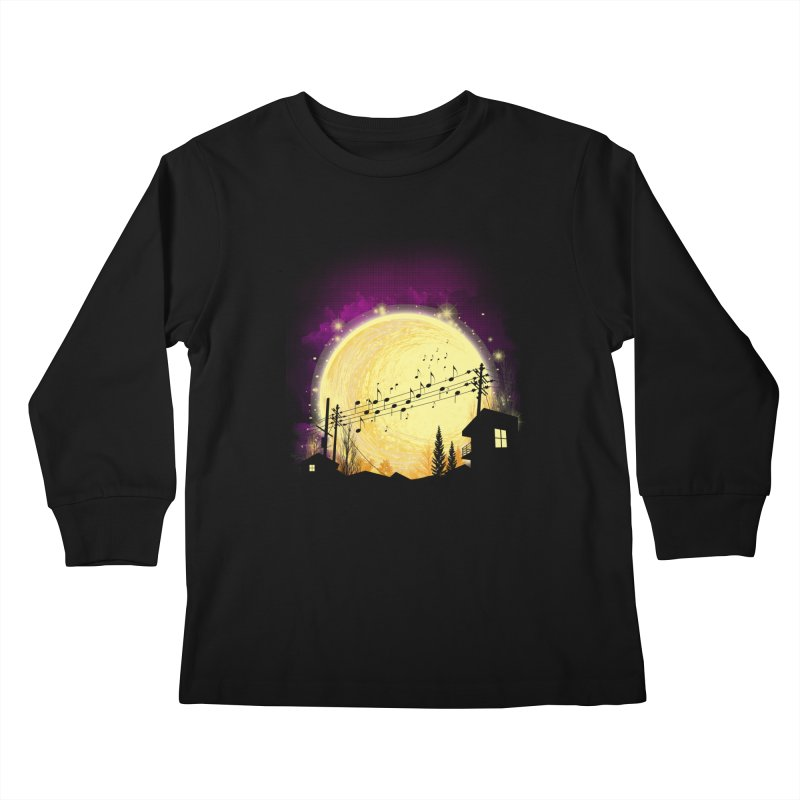 moonote Kids Longsleeve T-Shirt by hd's Artist Shop