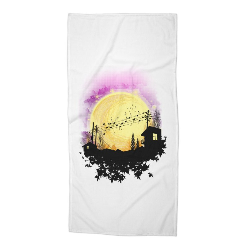 moonote Accessories Beach Towel by hd's Artist Shop