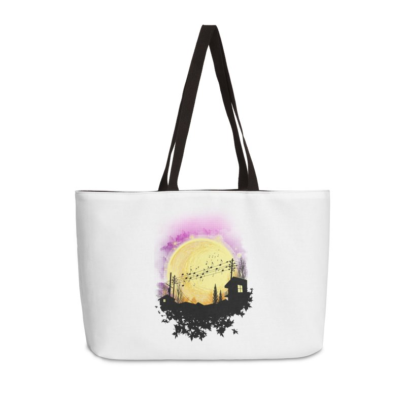 moonote Accessories Weekender Bag Bag by hd's Artist Shop