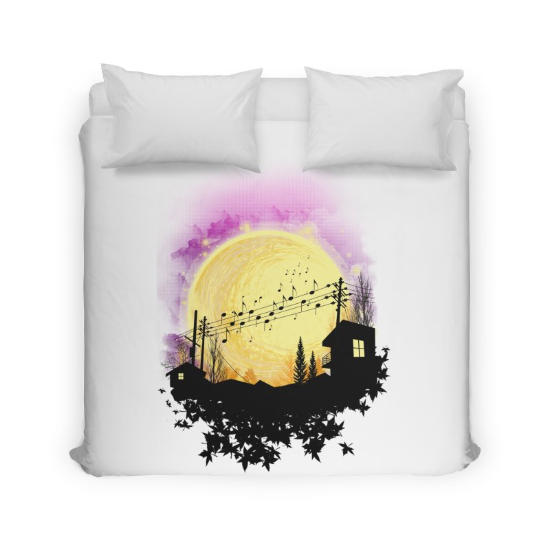 moonote Home Duvet by hd's Artist Shop