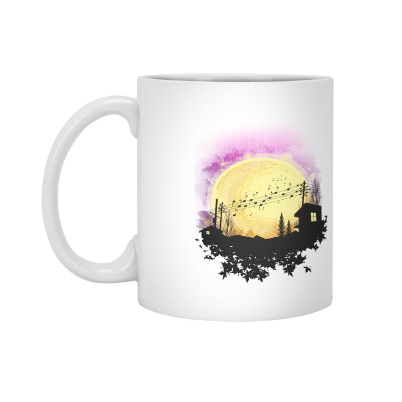 moonote Accessories Mug by hd's Artist Shop