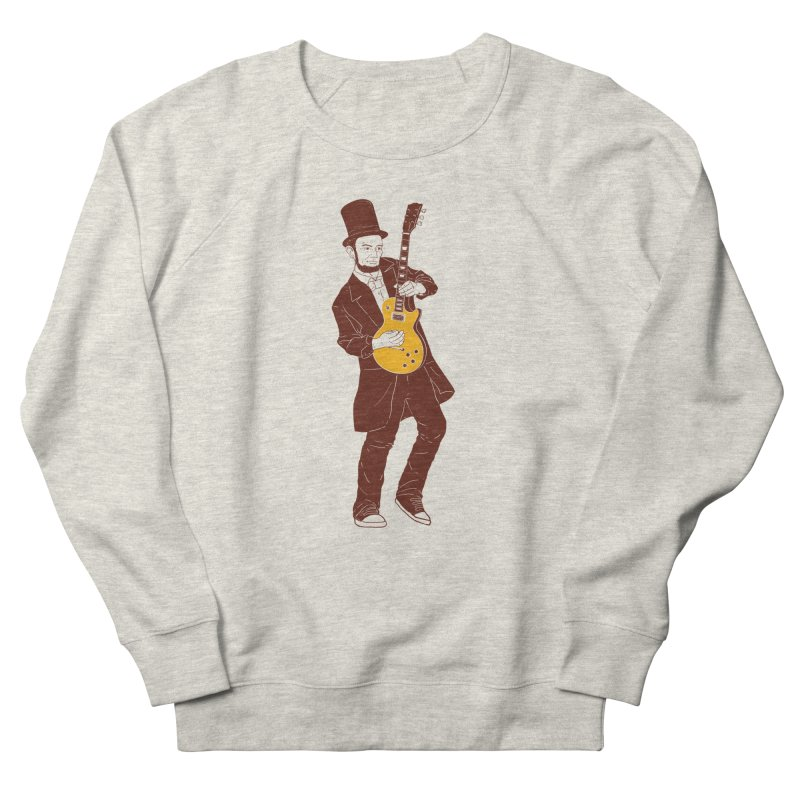 abraham slash Men's Sweatshirt by hd's Artist Shop