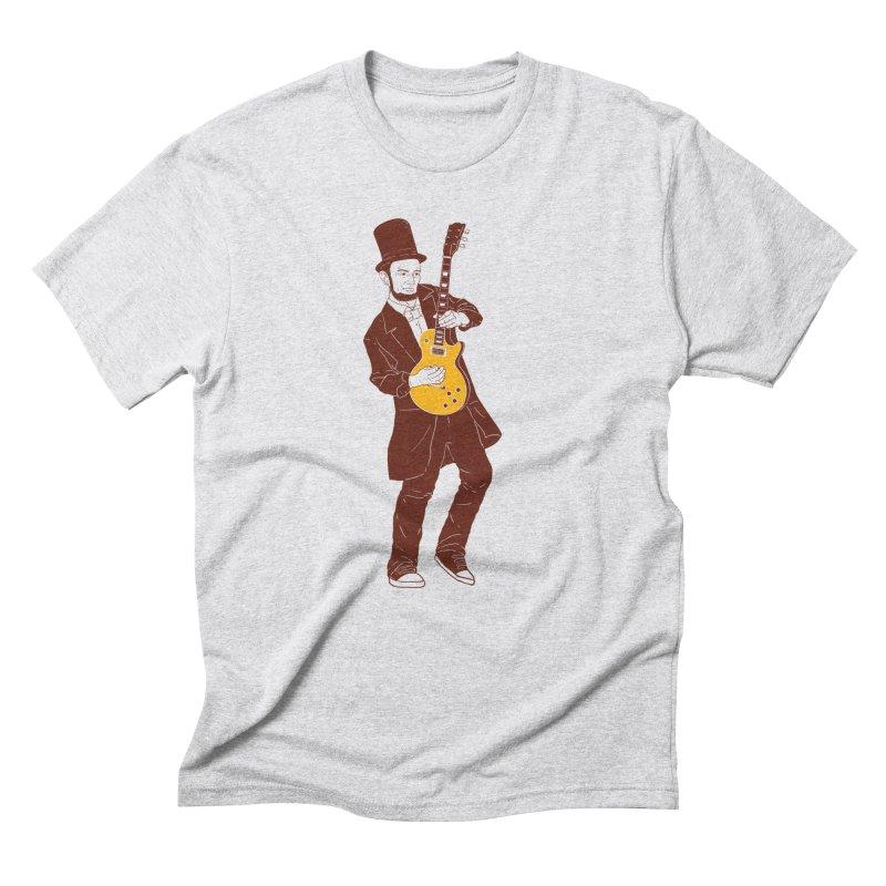 abraham slash Men's T-Shirt by hd's Artist Shop