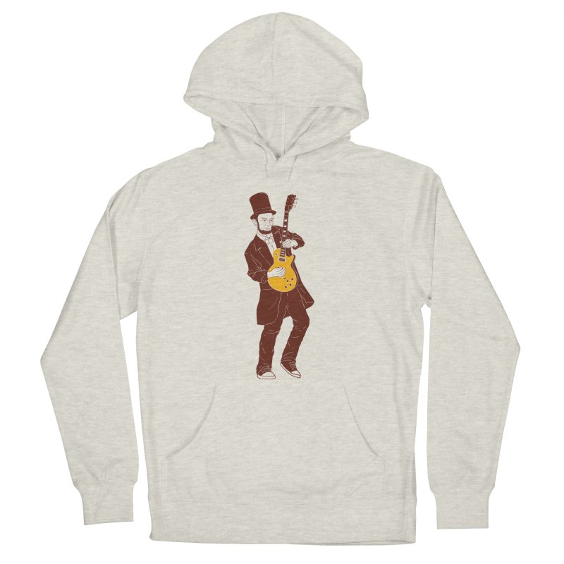abraham slash Men's French Terry Pullover Hoody by hd's Artist Shop