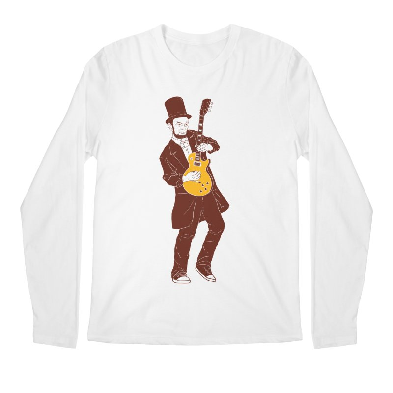 abraham slash Men's Longsleeve T-Shirt by hd's Artist Shop
