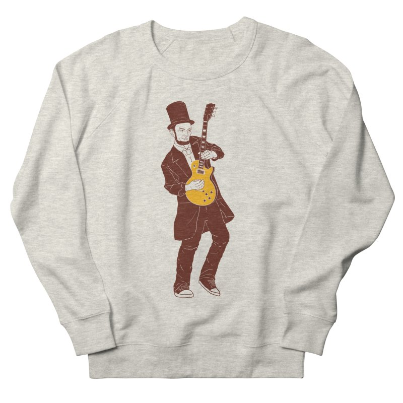 abraham slash Men's French Terry Sweatshirt by hd's Artist Shop
