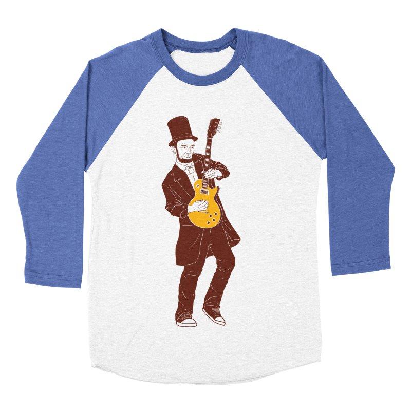 abraham slash Men's Baseball Triblend T-Shirt by hd's Artist Shop