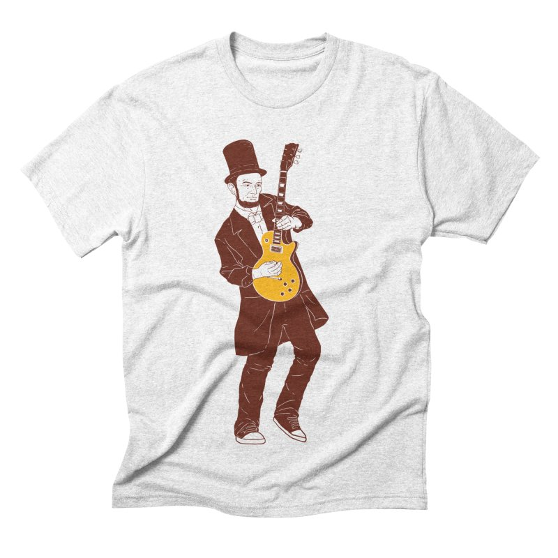 abraham slash Men's Triblend T-shirt by hd's Artist Shop
