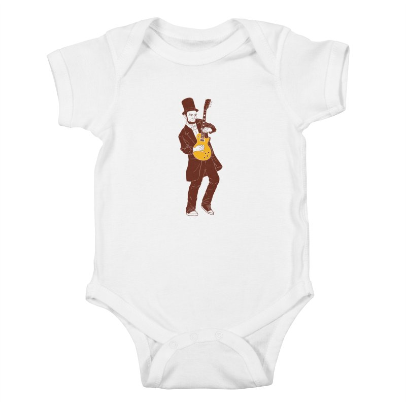 abraham slash Kids Baby Bodysuit by hd's Artist Shop