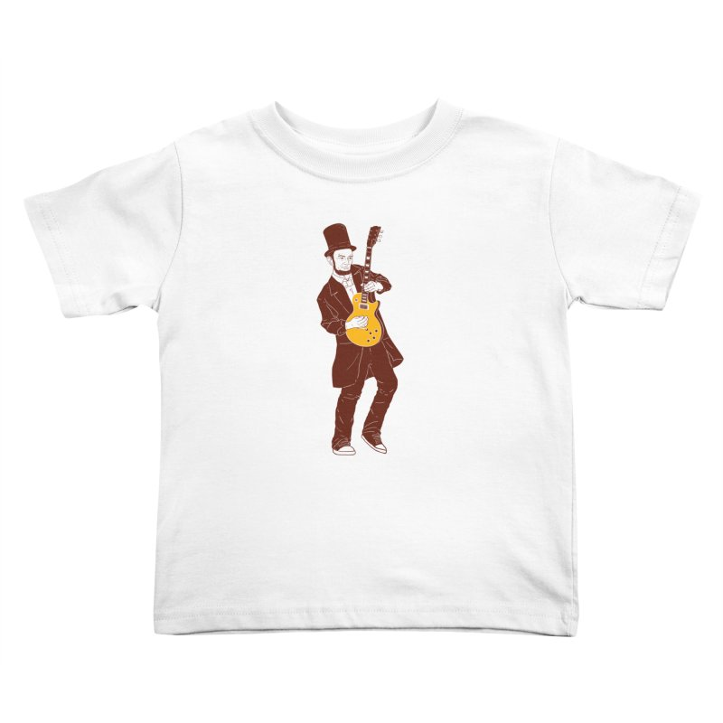 abraham slash Kids Toddler T-Shirt by hd's Artist Shop