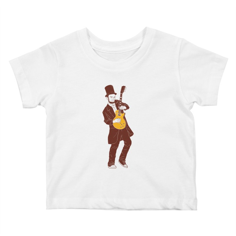 abraham slash Kids Baby T-Shirt by hd's Artist Shop
